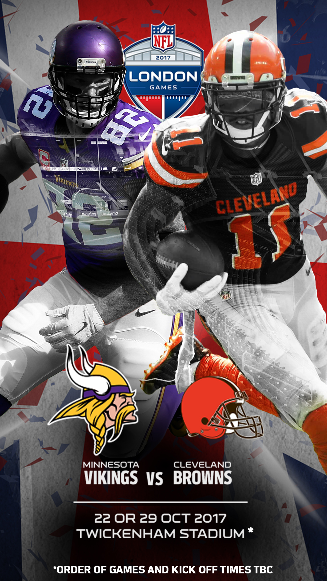 Vikings v Browns 1080x1920