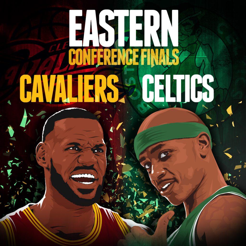 NBA Playoffs Cavaliers-Celtics