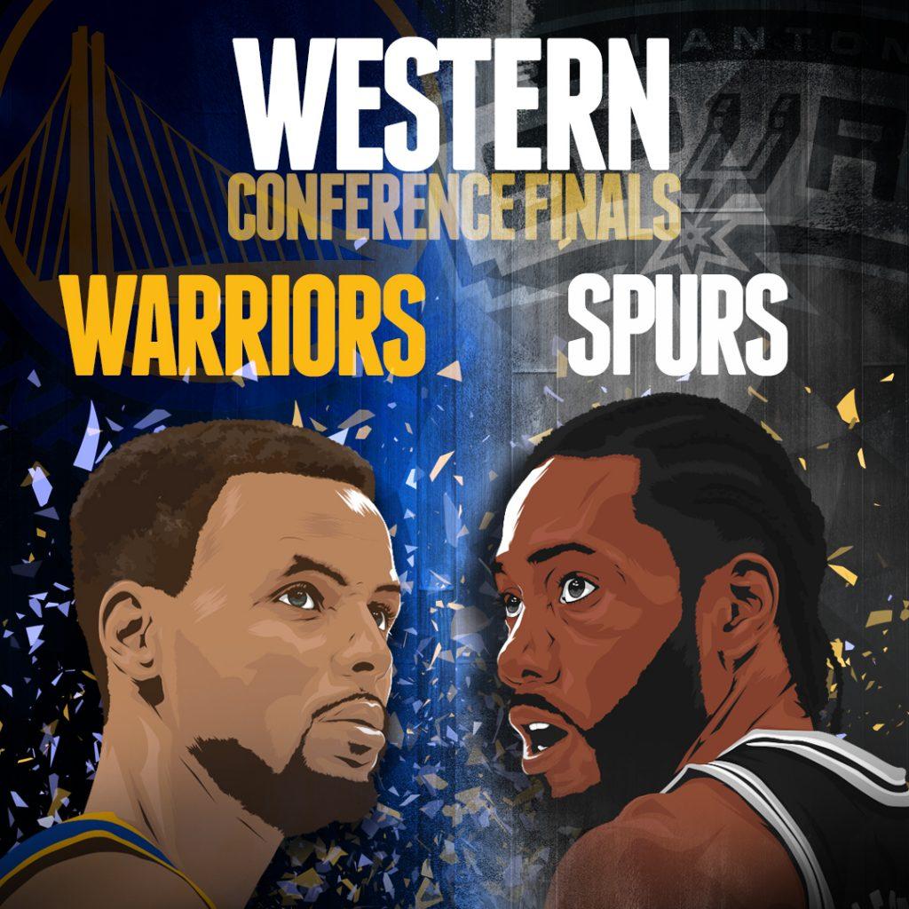 NBA Playoffs Warriors-Spurs-5