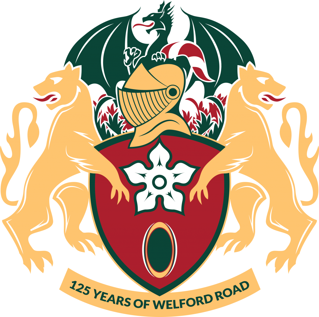 125 Years of Welford Road Crest (Light BG)
