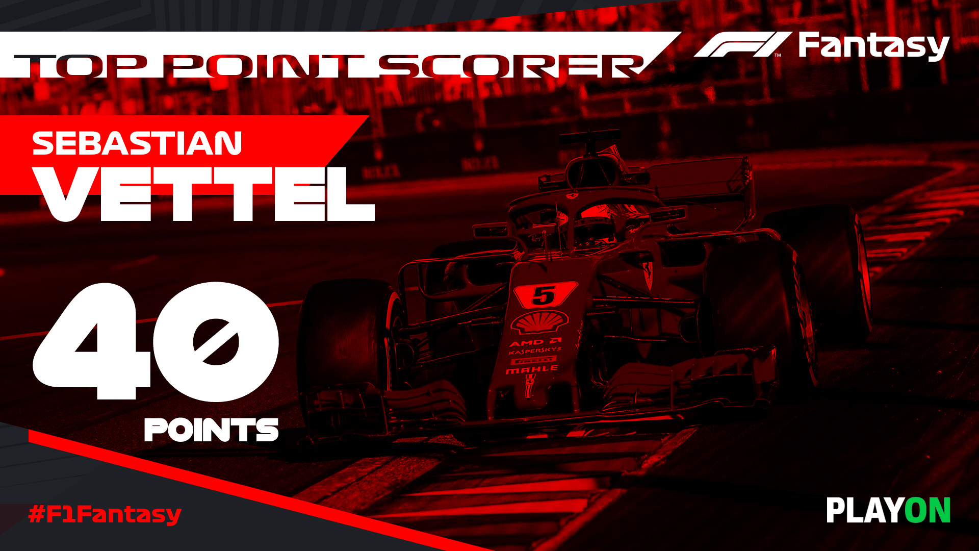 F1 Fantasy Top Point Scorer 1920x1080 Vettel