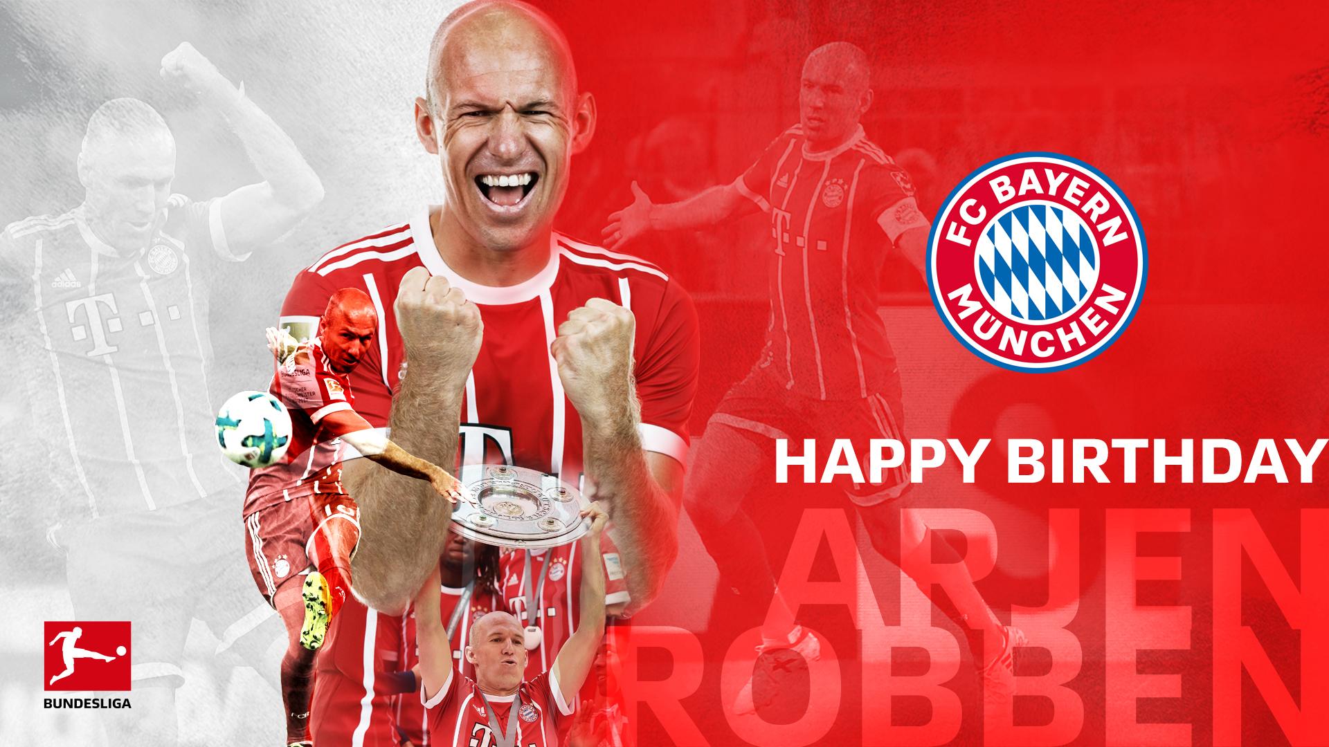 Arjen Robben Birthday 1920x1080