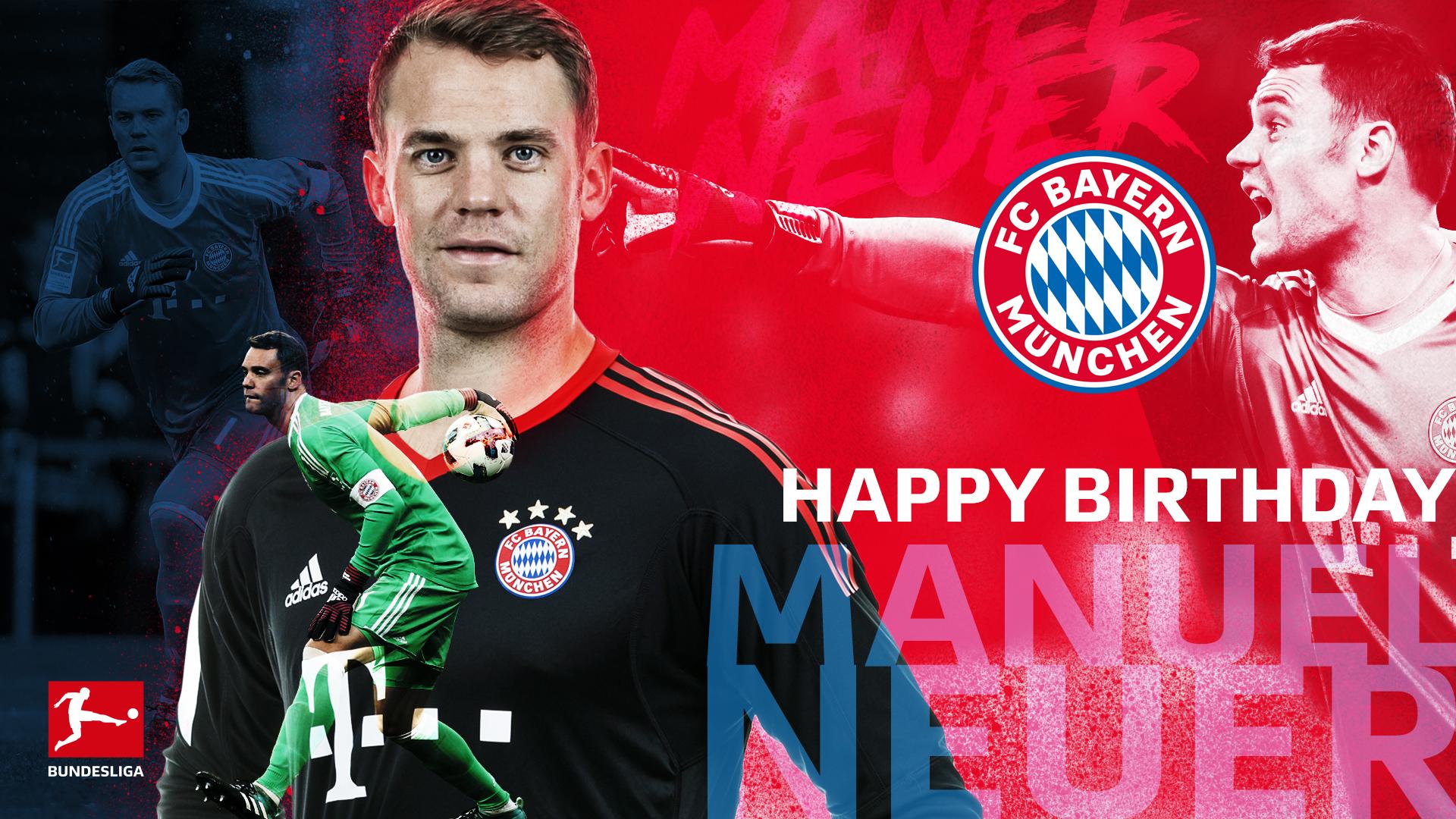 Manuel Neuer Birthday 1920x1080