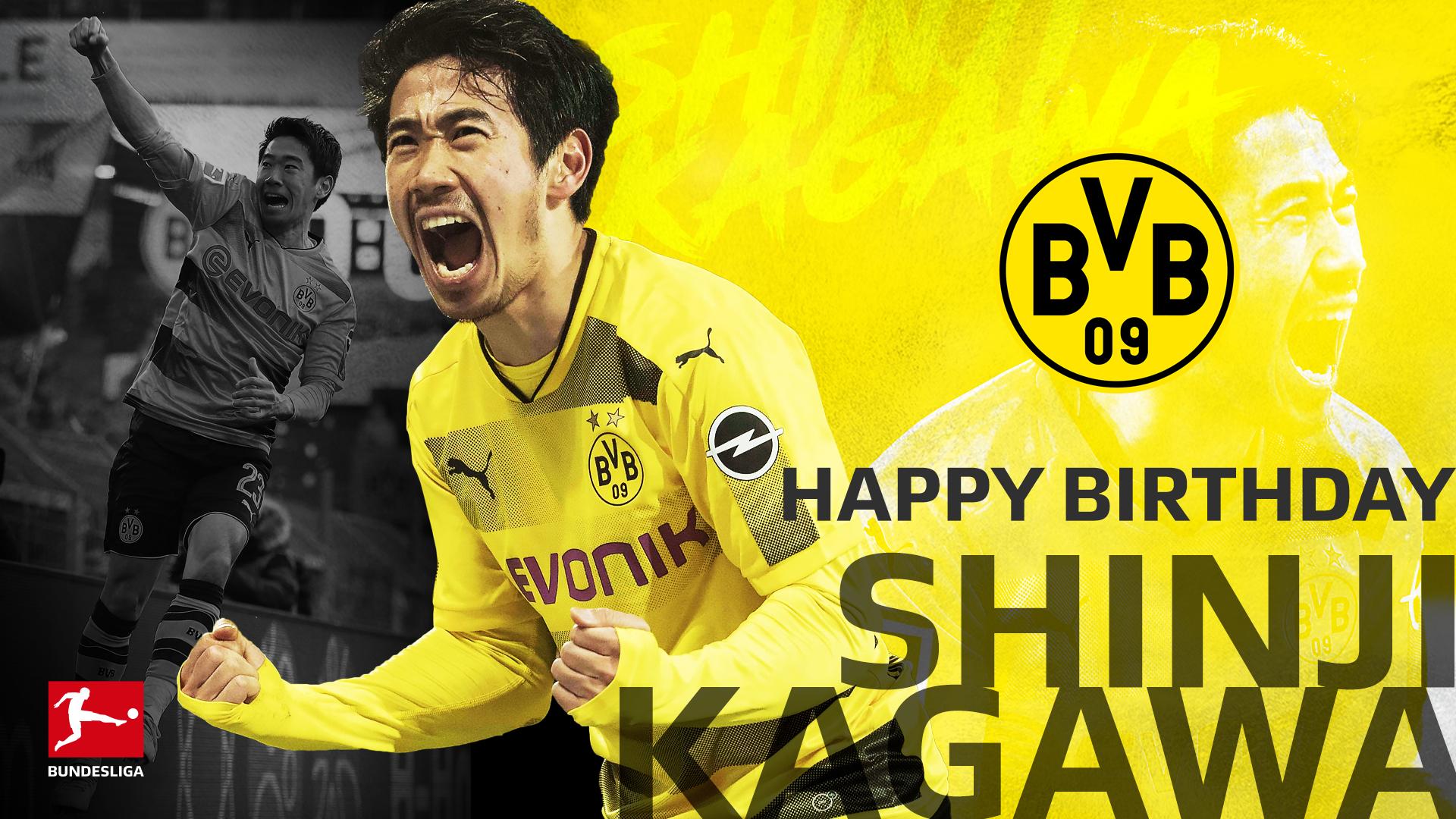 Shinji Kagawa Birthday 1920x1080