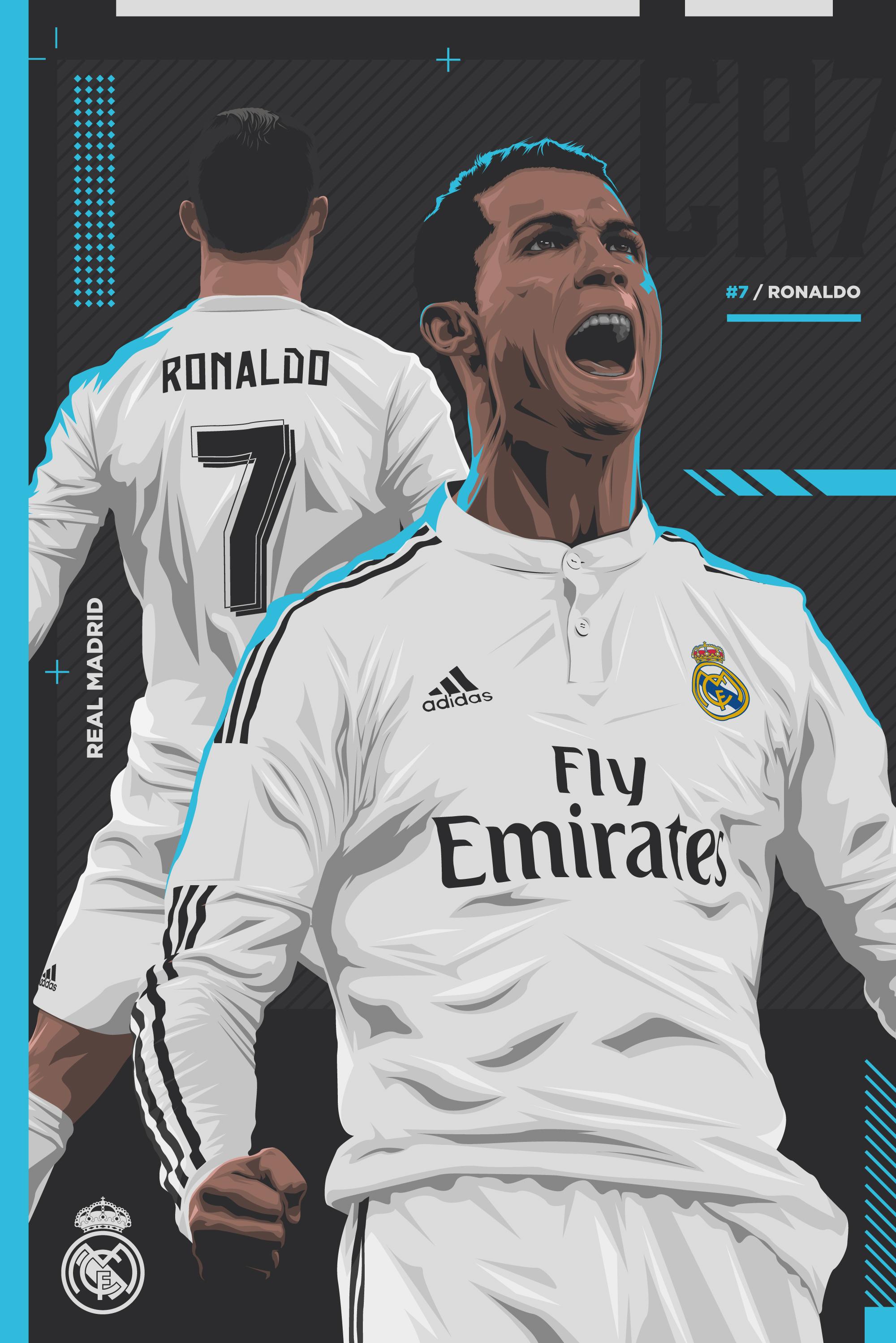 Ronaldo-PRINT-BLUE